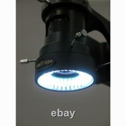 AmScope 11X-80X Industrial Single Zoom Inspection Microscope + 3MP USB Digital C