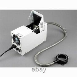 AmScope 2X-225X Stereo Inspection Microscope + 5MP Digital Camera