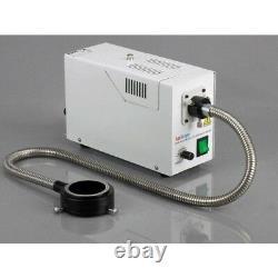 AmScope 3.5X-90X Simul-Focal Trinocular Boom Microscope + 1.3MP Digital Camera
