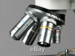 AmScope 40X-1000X High Power Binocular Microscope + USB Digital Camera Multi-Use