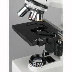 AmScope 40X-1000X Two Light Metallurgical Microscope + 9MP Digital Camera