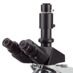 AmScope 40X-1600X Lab Trinocular Microscope + 9MP Digital USB Camera