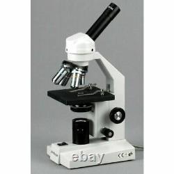 AmScope 40X-2500X Compound Microscope with USB Digital Camera Imager -Multi-Use
