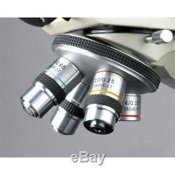 AmScope 40x-2000x Medical Vet Biological Binocular Microscope 3MP Digital Camera