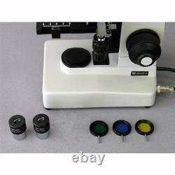 AmScope ME300TA-3M 40X-640X EPI Metallurgical Microscope + 3MP Digital Camera