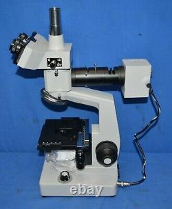 AmScope ME300TZA-2L-10M 40X-1600X 2 Light Metallurgical Microscope + 10MP Camera