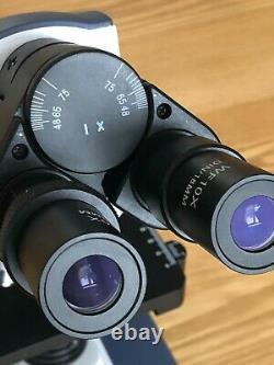 Amscope binocular compound microscope with Amscope 10MB digital camera