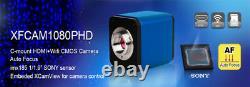 Auto Focal Focus 1080P 60FPS HDMI WiFi Digital Industrial Microscope Camera