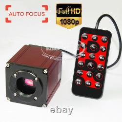Auto Focus 1080P 60FPS HDMI Digital Microscope Camera Sony CMOS Remote Control