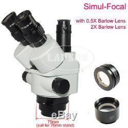 Auto Focus HDMI SONY IMX Digital Camera Simul-focal Trinocular Stereo Microscope