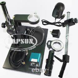 Autofocus 1080P 60FPS HDMI Auto focus Digital Microscope Camera 100X 180X C Lens