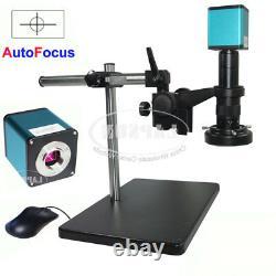 Autofocus 1080P 60FPS HDMI Auto focus Digital Microscope Camera 100X 180X Lens K