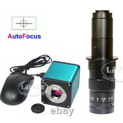 Autofocus 1080P 60FPS HDMI High Speed Digital Microscope Camera MAX 180X C Lens