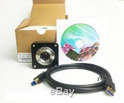 Camera 18MP USB3.0 Aptina CMOS AR1820 (couleur) pour microscope (C-Mount)