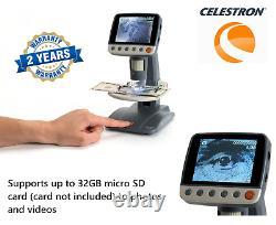 Celestron InfiniView LCD Digital Multiplug Microscope 44361 (UK Stock)