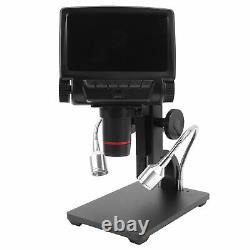 Digital Microscope USB With Screen Video Camera Microscope For Phone Repair