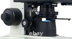 Digital Monocular Compound LED Microscope 40X-1600X Built-in 1.3MP Camera Win7