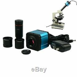 HDMI USB 14MP Microscope Digital Camera CCD Electronic Eyepiece WithAdapter lens