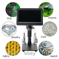 HY-2070 26MP Digital Microscope Camera Full HD 1080P 60FPS 7 LCD With 150X Lens