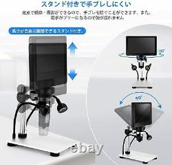 Lvylov Camera Digital Microscope USB 7.0 inch LCD Monitor Inspection observation