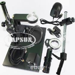 Measuring +Scale 180X 12MP 1080P 60FPS HDMI Digital Industrial Microscope Camera