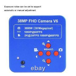 Microscope 38MP HDMI USB 1080P HD Camera Digital C-mount Video Recoder HighQ