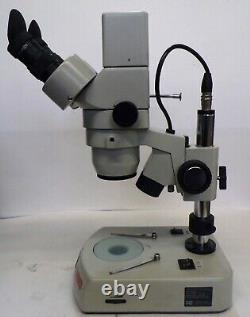 NATIONAL DIGITAL MICROSCOPE, DC3-420T, NTSC With AC ADAPTER AND MOTIC IMAGES PLUS