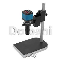 New Digital Microscope Camera Body with Stand and Lens 14MP Blue C-Mount HDMI