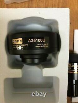 OMAX 10.0MP Microscope USB Digital Camera with Software, A35100U, 10MP