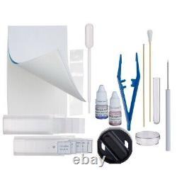 OMAX 2500X Digital Microscope 5MP Camera+Slide Preparation Kit+Book+Blank Slides