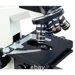 OMAX 40X-2000X Binocular Compound LED Microscope w Built-in 3MP Digital Camera