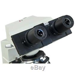 OMAX 40X-2000X Compound Binocular Microscope w 1.3MP Digital Camera