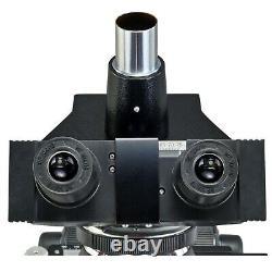 OMAX 40X-2500X Biological Compound Trinocular Microscope w 10MP Digital Camera