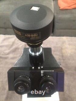 OMAX 40X-2500X Darkfield Microscope + 10MP Digital Camera