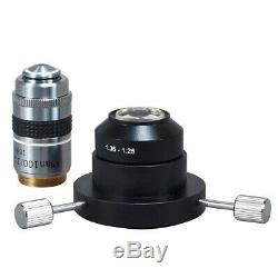 OMAX 40X-2500X Darkfield Trinocular Compound LED Microscope+10MP Digital Camera