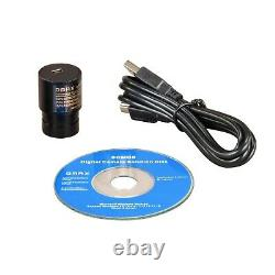 OMAX 40X-2500X LED Digital Lab Binocular Compound Microscope with USB Camera