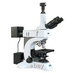 OMAX 50X-1500X Infinity Polarizing Metallurgical Microscope+9MP Digital Camera