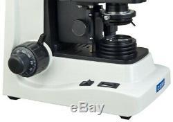 OMAX Trinocular Compound Siedentopf Microscope 40X-1600X+5MP Digital Camera