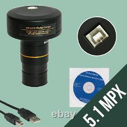 Oculaire Microscope Camera/photo Digital Usb Pc Mc5
