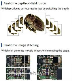 Panorama USB 3.0 High Speed 6MP C-mount Industrial Microscope Camera Sony IMX178