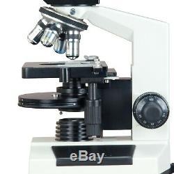 Phase Contrast & Brightfield Lab Compound Clinical Microscope+5MP Digital Camera