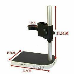 Phone Repair Industrial Digital Microscope Eyepiece LED Camera With 8'' Screen