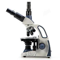 SWIFT 2500X Trinocular Microscope w 3D Mechanic Stage+5MP USB 2.0 Digital Camera
