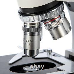 SWIFT 40X-2500X LED Digital Lab Trinocular Compound Microscope with 5MP Camera