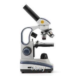 SWIFT Pro 40X-1000X Compound Microscope SW200DL LED + 1.3MP digital camera