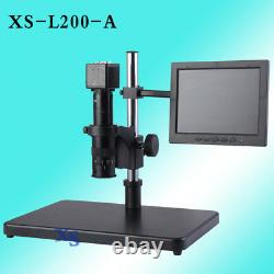 Techtongda Electron Digital Microscope Industrial HD Camera Magnifier 8 Screen