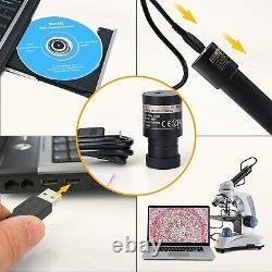 US Swift 5.0 Megapixel Digital Camera for Microscopes Eyepiece Mount Windows/Mac