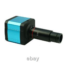 USB 14MP HDMI Microscope Digital Camera CCD Electronic Eyepiece WithAdapter lens