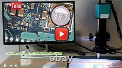 100x-720x Autofocus 1080p Hdmi Caméra De Microscope Numérique Industriel Sony Imx290