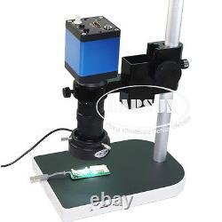 100x Hdmi 1080p Hd Digital Lab Système De Caméra De Microscope Industriel C-mount A30